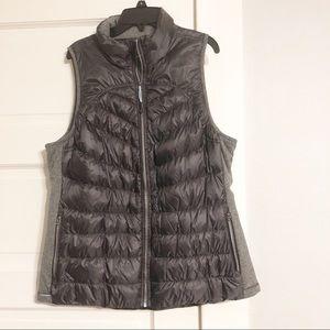 Tangerine Brand Charcoal Grey Puffer Vest Sz L